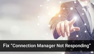 Sage 50 Connection Manager Not Responding