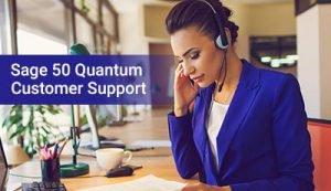 Sage 50 Quantum Customer Support