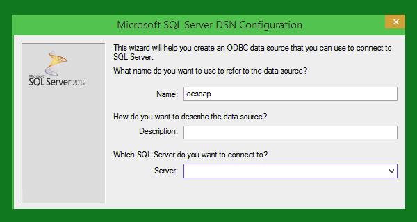 SQL server DNS Configuration