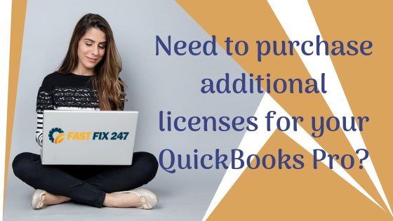 Need to purchase additional licenses for your QuickBooks Pro?