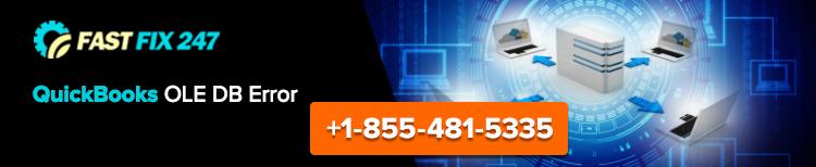 QuickBooks Error OLE DB - QuickBooks Support 1855-481-5335