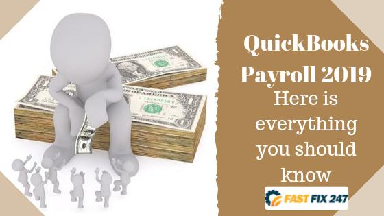 QuickBooks Payroll 2019