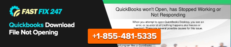 QuickBooks Download File Not Opening
