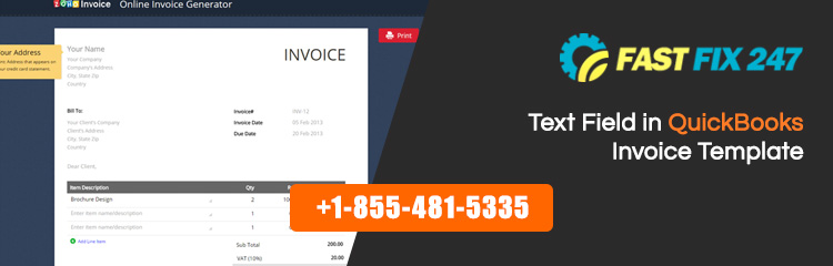Text-Field-in-QuickBooks-Invoice-Template