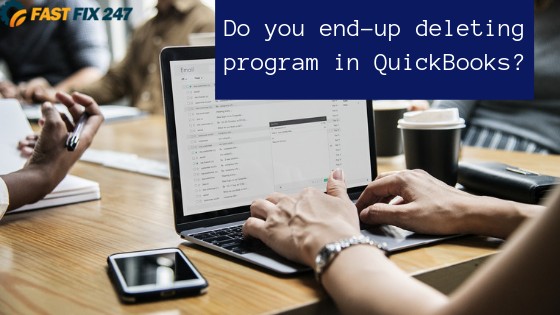 Do you end-up deleting program files