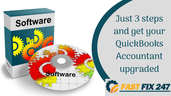 Just 2 steps and you can get your QuickBooks Accountant Upgraded