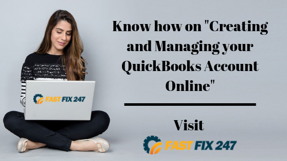Know How on _Creating and Managing your QuickBooks Account Online