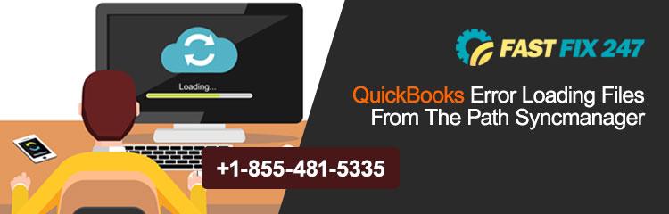 QuickBooks Error Loading Files