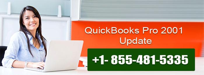 QuickBooks Pro 2001 Update