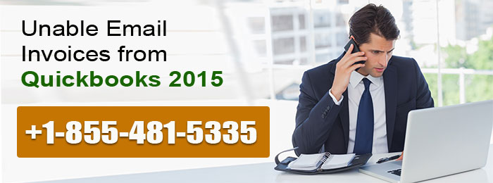 Unable Email Invoices from 2015 Quickbooks