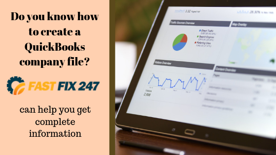 Do you know how to create a QuickBooks company file