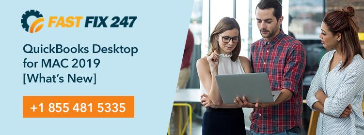 QuickBooks Desktop for MAC 2019 [What's New]
