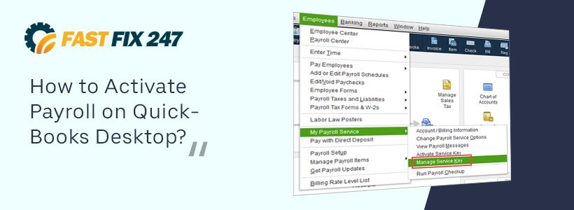 How to Activate Payroll on QuickBooks Desktop