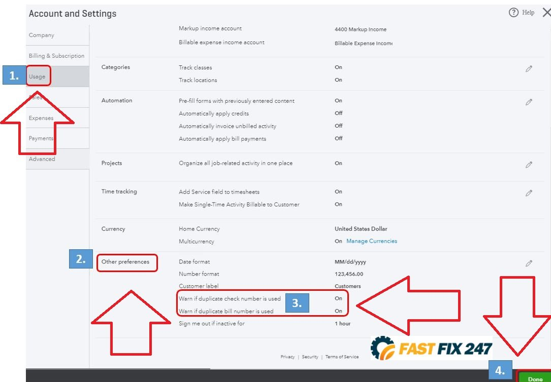 how to prevent duplicate invoice number
