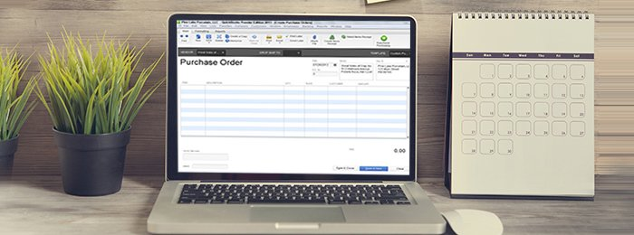 creating purchase order vendors quickbooks