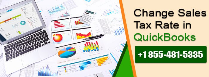 Change Sales Tax Rate in QuickBooks
