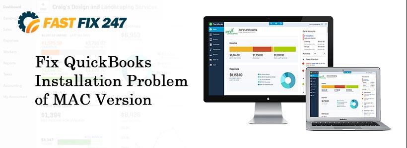 Fix QuickBooks Installation Problem of MAC Version