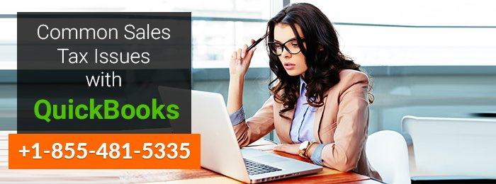 Common Sales Tax Issues with QuickBooks