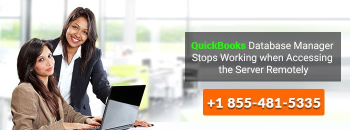 quickbooks database manager stop working