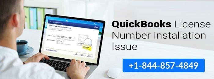 QuickBooks License Number Installation Issue