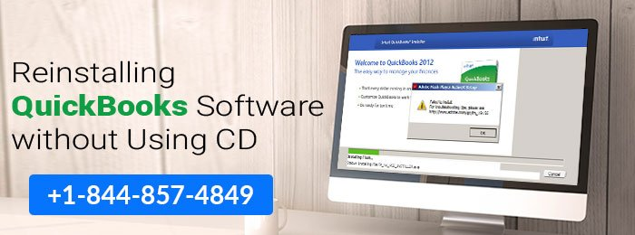 Reinstalling QuickBooks Software without Using CD