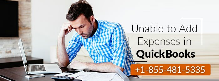 Unable to Add Expenses in QuickBooks