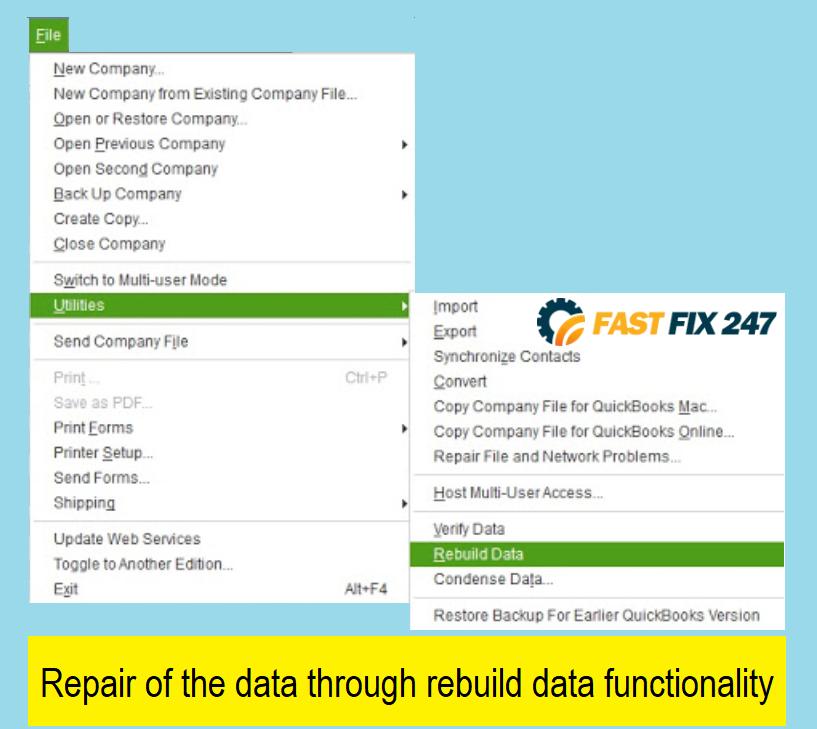 repair-data-through-rebuild-data-tool