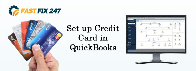 Set up Credit Card in QuickBooks