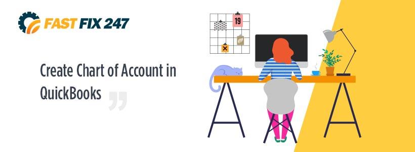 Create Chart of Account in QuickBooks