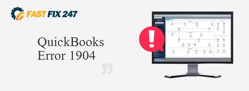 QuickBooks Error 1904