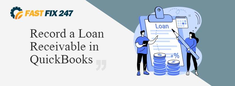Record a Loan Receivable in QuickBooks