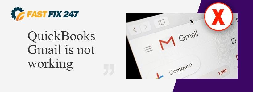QuickBook gmail not working