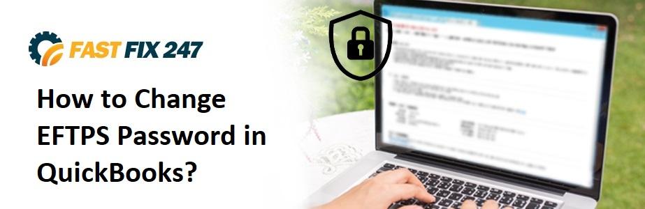 Change EFTPS Password in QuickBooks
