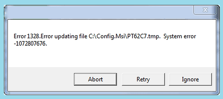 qb error 1328