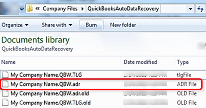 delete adr file